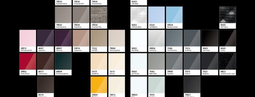 kolory szkła